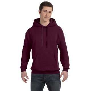 Men's Big and Tall Comfortblend Ecosmart 50/50 Pullover Maroon Hooded Jacket