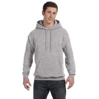 Men's Big and Tall Comfortblend Ecosmart 50/50 Pullover Light Steel Hooded Jacket