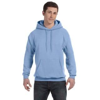 Men's Big and Tall Comfortblend Ecosmart 50/50 Pullover Light Blue Hooded Jacket