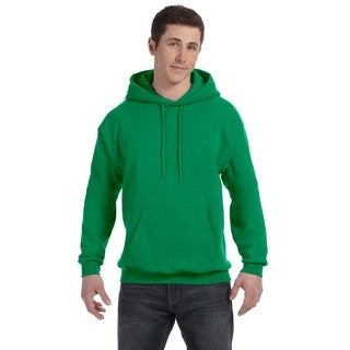 Men's Big and Tall Comfortblend Ecosmart 50/50 Pullover Kelly Green Hooded Jacket