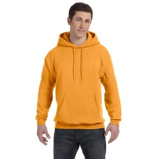 Men's Big and Tall Comfortblend Ecosmart 50/50 Pullover Gold Hooded Jacket