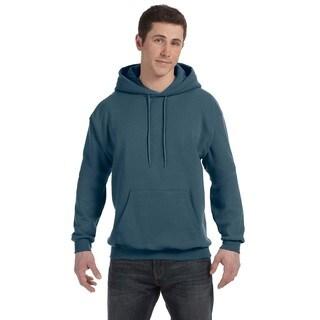 Men's Big and Tall Comfortblend Ecosmart 50/50 Pullover Denim Hooded Jacket