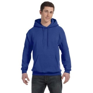 Men's Big and Tall Comfortblend Ecosmart 50/50 Pullover Deep Royal Hooded Jacket