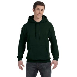Men's Big and Tall Comfortblend Ecosmart 50/50 Pullover Deep Forest Hooded Jacket