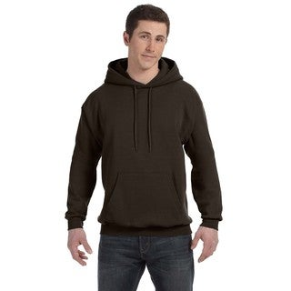 Men's Big and Tall Comfortblend Ecosmart 50/50 Pullover Dark Chocolate Hooded Jacket