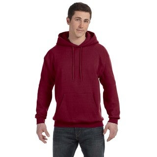 Men's Big and Tall Comfortblend Ecosmart 50/50 Pullover Cardinal Hooded Jacket