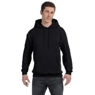 Men's Big and Tall Comfortblend Ecosmart 50/50 Pullover Black Hooded Jacket