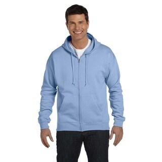 Men's Big and Tall Light Blue Comfortblend Ecosmart 50/50 Full-Zip Hood