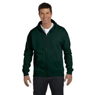 Men's Big and Tall Deep Forest Comfortblend Ecosmart 50/50 Full-Zip Hood