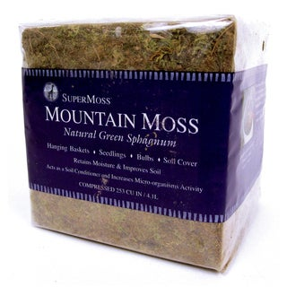 Super Moss 23820 1.5-pounds Bale Sphagnum Mountain Moss