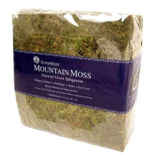 Super Moss 23825 3.5-pounds Bale Sphagnum Mountain Moss