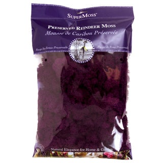 Super Moss 25141 8-ounce Purple Reindeer Moss