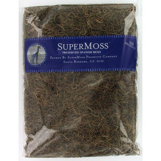 Super Moss 26919 16-ounce Natural Spanish Moss