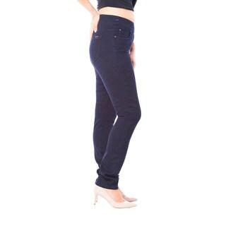 Bluberry Women's Hazel Rare Indigo Slim Leg Denim Jeans