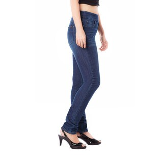 Bluberry Women's Sienna Medium Wash Plus Size Slim Leg Denim