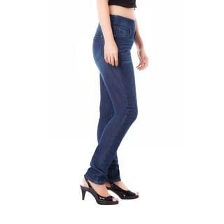 Bluberry Women's Sienna Medium Wash Plus Size Slim Leg Denim (Option: 22w)