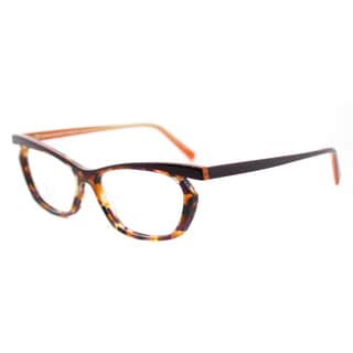 Lafont LF Sourire 7038 Purple Tortoise Plastic 51-millimeter Cat-eye Eyeglasses