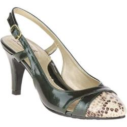 Women's Soft Style Rielle Slingback Rosin Pearlized Patent/Python