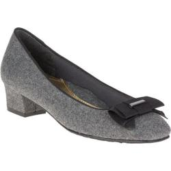 Women's Soft Style Sharyl Slip On Grey Flannel