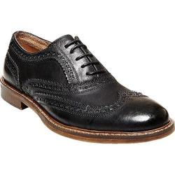 Men's Steve Madden Daxx Wing Tip Oxford Black Leather
