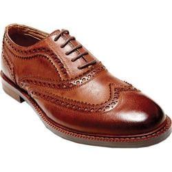 Men's Steve Madden Daxx Wing Tip Oxford Cognac Leather
