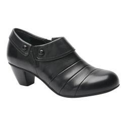 Women's Drew Ashton Heel Black Leather