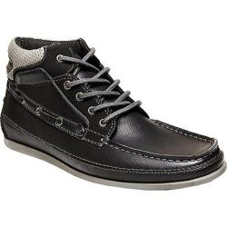 Men's Madden Grifin Boat Shoe Black Synthetic
