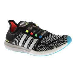 Men's adidas CC Cosmic Boost Running Shoe Core Black/White/Solar Blue