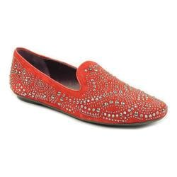 Women's VANELi Barnie Loafer Red Suede/Nappa