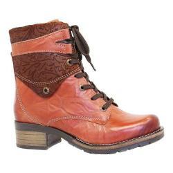 Women's Dromedaris Kara Print Boot Rusty Leather