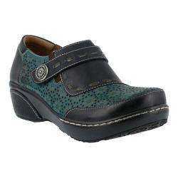 Women's L'Artiste by Spring Step Rokas Slip On Black Multi Leather