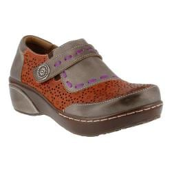 Women's L'Artiste by Spring Step Rokas Slip On Gray Multi Leather