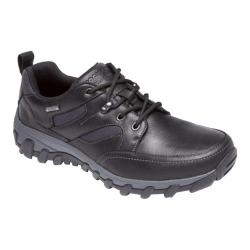 Men's Rockport Cold Springs Plus Mudguard Oxford Black Leather