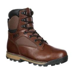 Men's Rocky 8in Traditions Waterproof Outdoor Boot RKS0260 Brown Full Grain Leather/Nylon