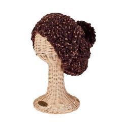 Women's San Diego Hat Company Knit Beanie KNH3404 Brown