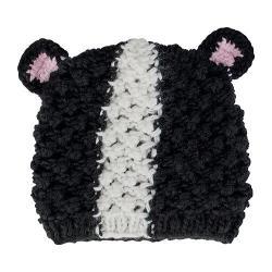 Women's San Diego Hat Company Knit Beanie KNH3408 Black/White