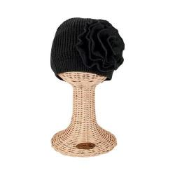 Women's San Diego Hat Company Knit Beret KNH3421 Black