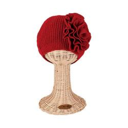 Women's San Diego Hat Company Knit Beret KNH3421 Red