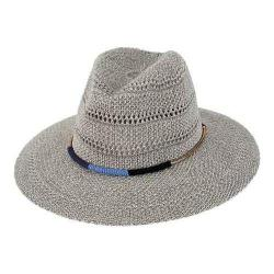 Women's San Diego Hat Company Knit Fedora KNH3394 Grey