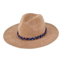 Women's San Diego Hat Company Knit Fedora KNH3396 Camel