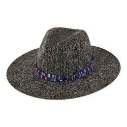 Women's San Diego Hat Company Knit Fedora KNH3396 Grey