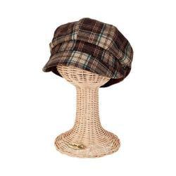 Women's San Diego Hat Company Newsboy Cap CTH8048 Brown