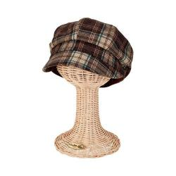Women's San Diego Hat Company Newsboy Cap CTH8048 Brown