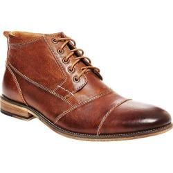 Men's Steve Madden Jabbar Boot Dark Tan Leather