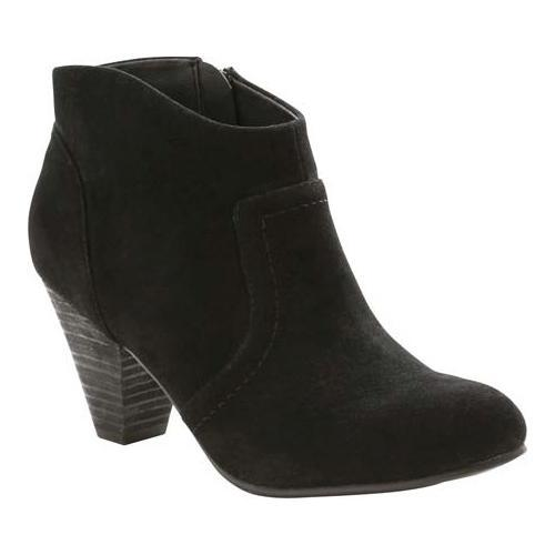 254c5af9eaaa Shop Women s XOXO Aldenson Ankle Boot Black Textile - Free Shipping Today -  Overstock - 12124821