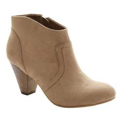 Women's XOXO Aldenson Ankle Boot Taupe Microfiber (More options available)