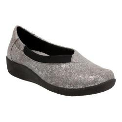 Women's Clarks Sillian Jetay Silver Metallic Synthetic