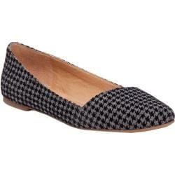 Women's Lucky Brand Archh Flat Black/Grey Fabric