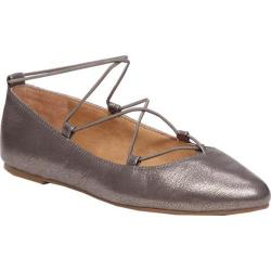 Women's Lucky Brand Aviee Flat Old Pewter Leather