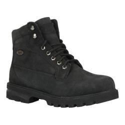 Men's Lugz Brigade HI Boot Black Nubuck
